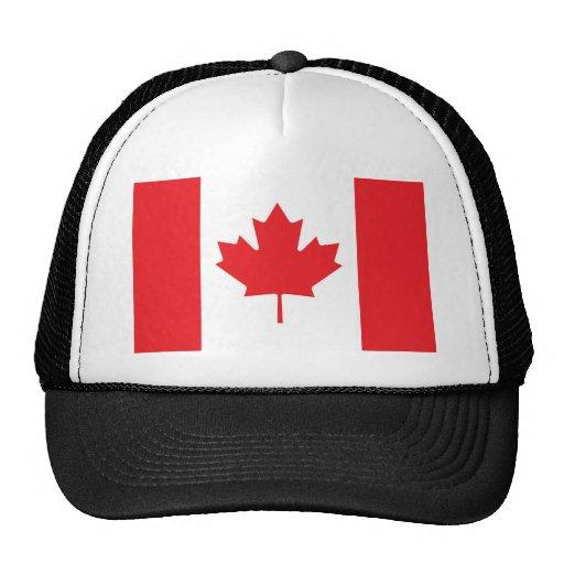 Canadian Flag Mesh Hat