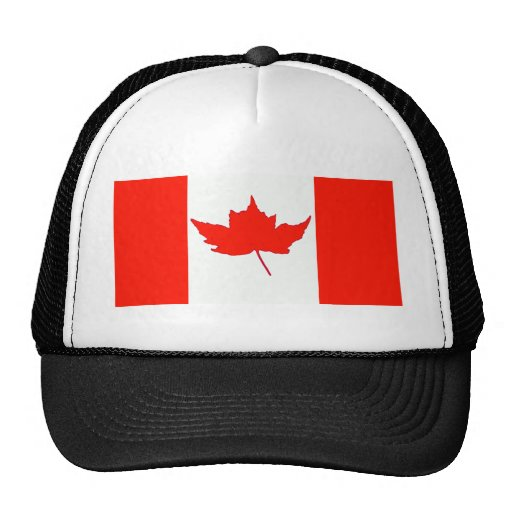 Canadian Flag Trucker Hat