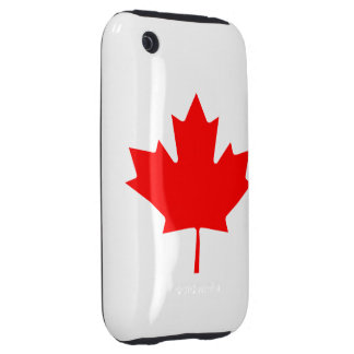 Canadian Flag iPhone 3G/3GS Case-Mate Tough iPhone 3 Tough Covers