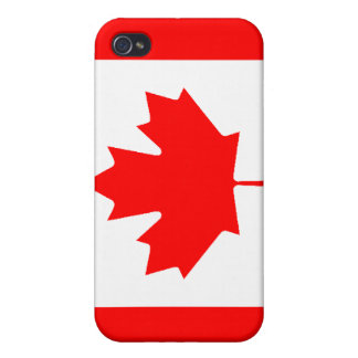 Canadian Flag iPhone 4 Case