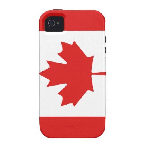 Canadian flag  iPhone 4 Case-Mate Tough™ Case