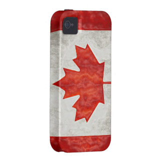 Canadian Flag iPhone 4 Case-Mate Tough iPhone 4/4S Covers