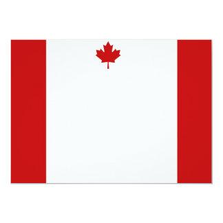 Canadian Flag Landscape Invitation