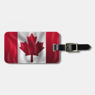 Canadian Flag Luggage Tag