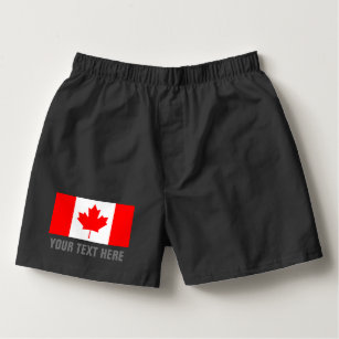 2a998b1dc5 Canadian flag of Canada boxer shorts gift for men Boxers