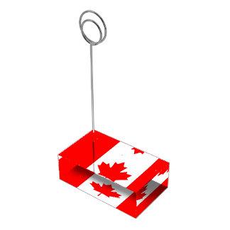 Canadian Flag of Canada Red Maple Leaf Card Holder