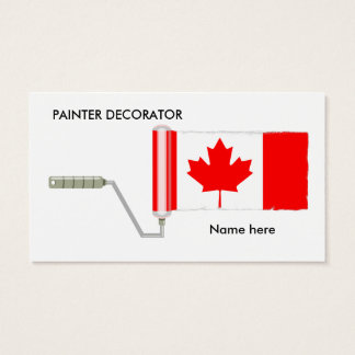 Canadian business cards zazzlecomau for Business cards canada