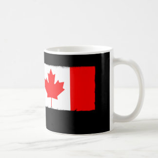 Canadian Flag Paint Roller Coffee Mug