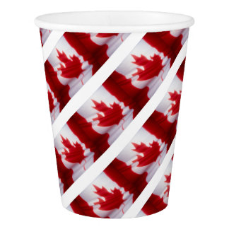 CANADIAN FLAG PAPER CUP