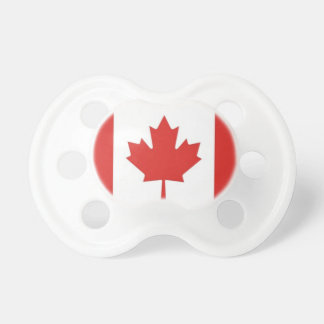 Canadian Flag-Patriotic Baby Dummy