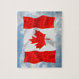 Canadian Flag - Puzzle