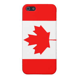 Canadian Flag Savvy iPhone 5 Matte Finish iPhone 5 Cases