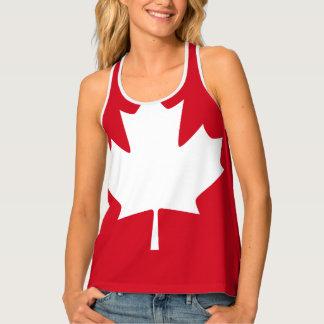 Canadian Flag Singlet