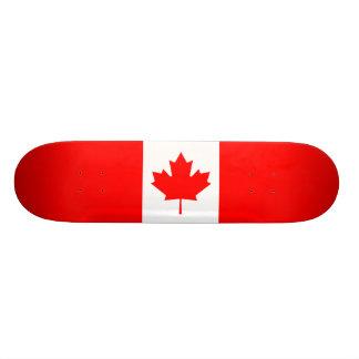 Canadian Flag Custom Skate Board