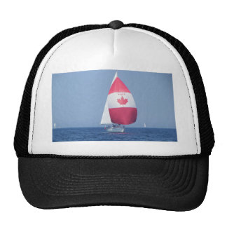 Canadian Flag Spinnaker Mesh Hats