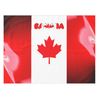 Canadian flag tablecloth