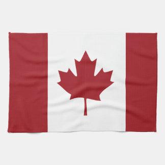 Canadian flag tea towel
