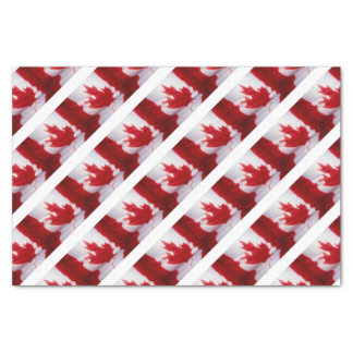 CANADIAN FLAG TISSUE PAPER