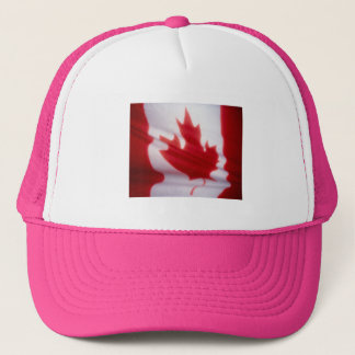CANADIAN FLAG TRUCKER HAT