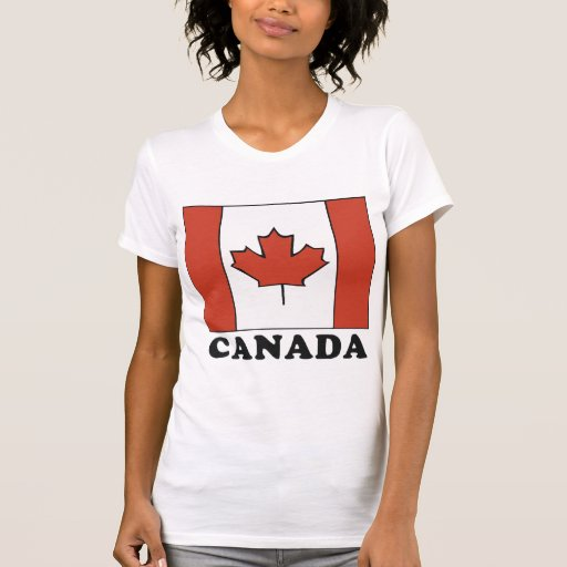 Canadian Flag Women's T-Shirt T Shirts