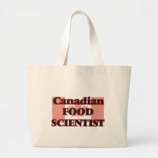 Canadian Food Scientist Jumbo Tote Bag
