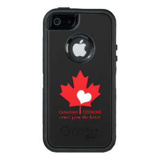 Canadian Foodie OtterBox iPhone 5/5s/SE Case