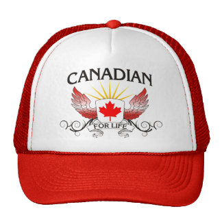 Canadian For Life Hats