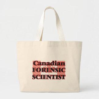 Canadian Forensic Scientist Jumbo Tote Bag