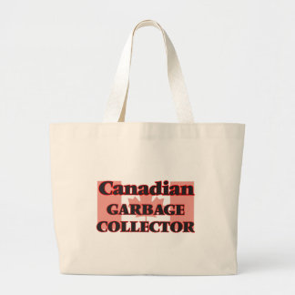 Canadian Garbage Collector Jumbo Tote Bag