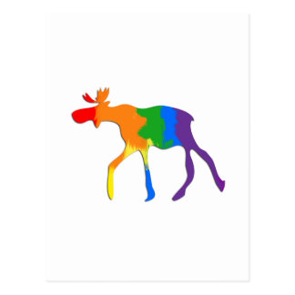 Canadian gay and lesbian pride postcard