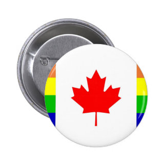 Canadian Gay Pride Pinback Buttons
