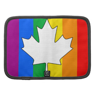 CANADIAN GAY PRIDE MAPLE FOLIO PLANNERS