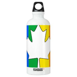 CANADIAN GAY PRIDE MAPLE SIGG TRAVELLER 0.6L WATER BOTTLE