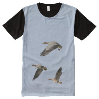 Canadian Geese All-Over Print T-Shirt
