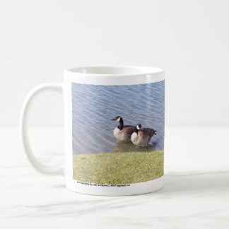 Canadian Geese along the Ottawa River Coffee Mug