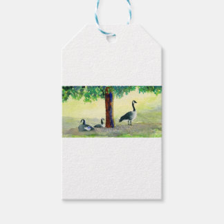 Canadian Geese Gift Tags