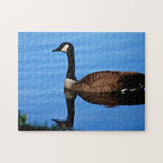 Canadian Geese Photo Jigsaw Puzzle
