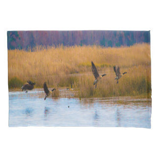 Canadian Geese Pillow Cases