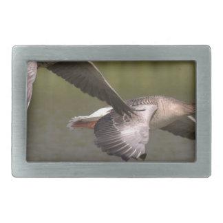 Canadian Geese Rectangular Belt Buckles