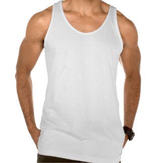 Canadian Girl Silhouette Flag Tank Top