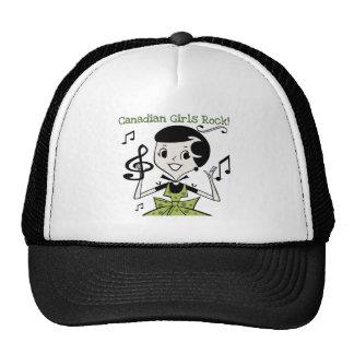 Canadian Girls Rock Trucker Hat