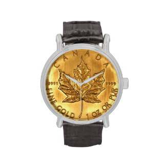 Canadian Gold Coin Wrist Watches