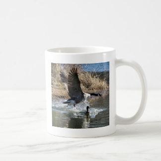 Canadian Goose Takeoff Coffee Mug
