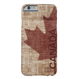 Canadian grunge flag i-phone  case barely there iPhone 6 case