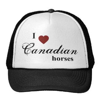 Canadian horses cap