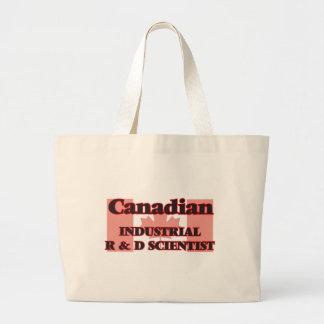 Canadian Industrial R & D Scientist Jumbo Tote Bag