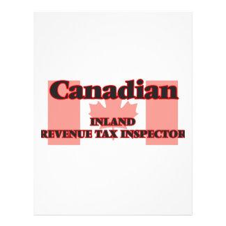 Canadian Inland Revenue Tax Inspector 21.5 Cm X 28 Cm Flyer