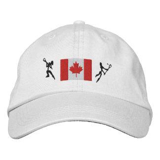 Canadian Lacrosse Embroidered Cap Baseball Cap
