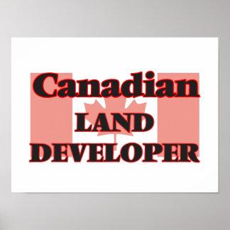 Canadian Land Developer Poster