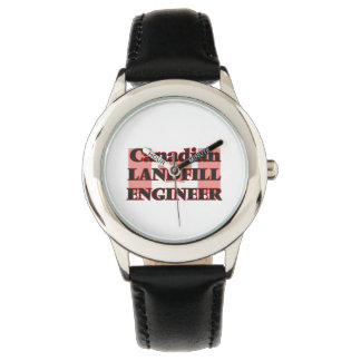 Canadian Landfill Engineer Wristwatch